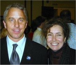 Mikki and Greg Lemond